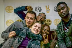 Junge Menschen beim Projekt Aware and Active