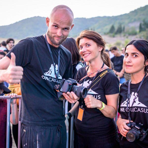 Projektbild Gemeinschaft über Grenzen Hinweg Beim One Caucasus Festival